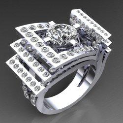 3D wax jewellery - Jaubalet London