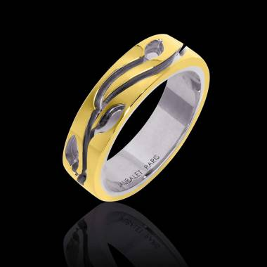 Yann Wedding Band Yellow Gold