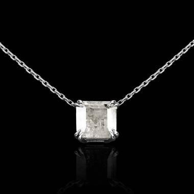 Diamond Pendant Gold Griffes d'Amour
