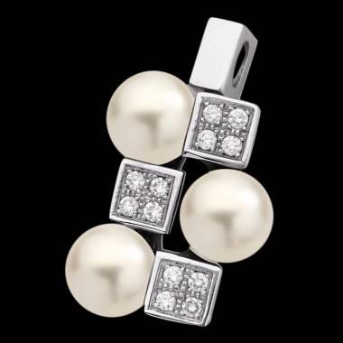 Pendentif perle blanche Archipel