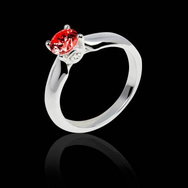 Ruby engagement ring white gold Motherhood