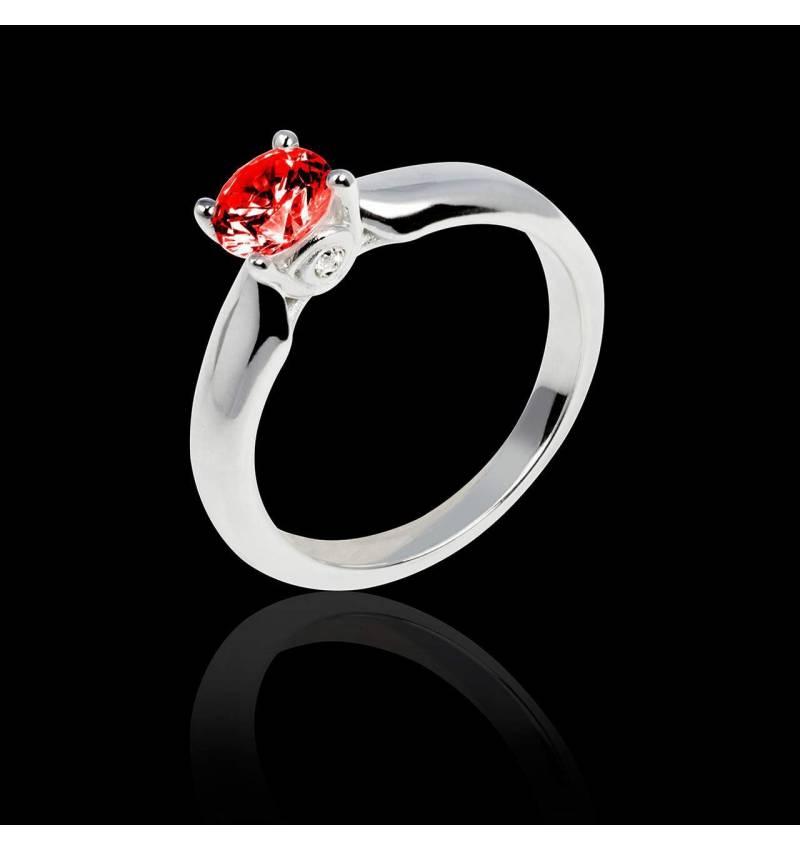 Ruby engagement ring white gold Motherhood