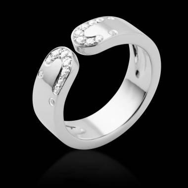Diamond Wedding Band Platinum Seductrice