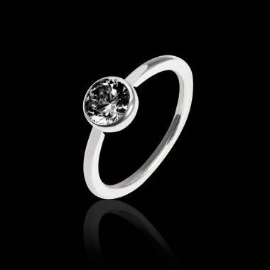 Cristina Black Diamond Ring