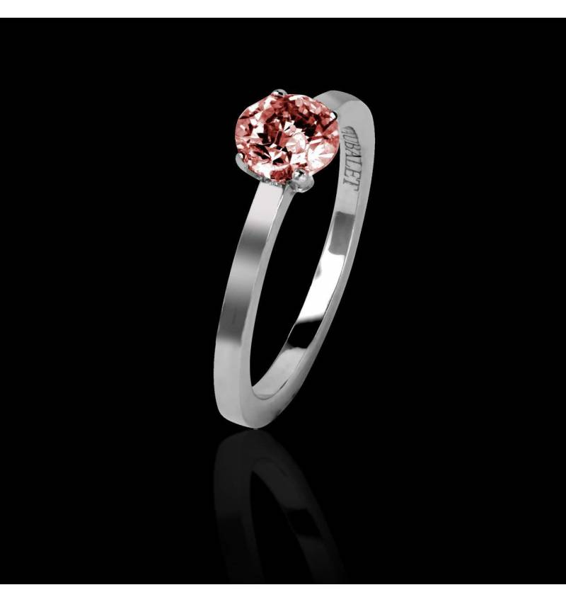 Ruby engagement ring white gold Judith solo