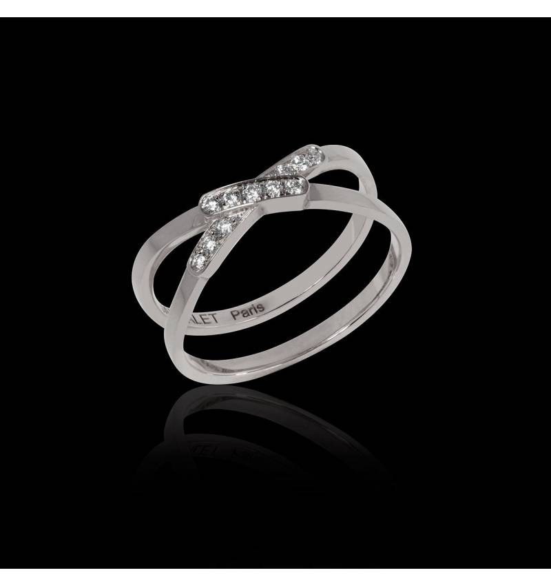 Diamond Ring White Gold Tifène