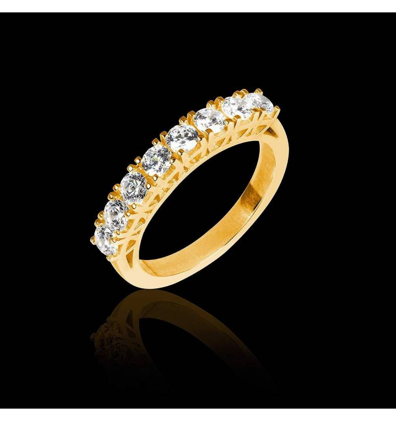 Yellow Gold Wedding Band Ceres