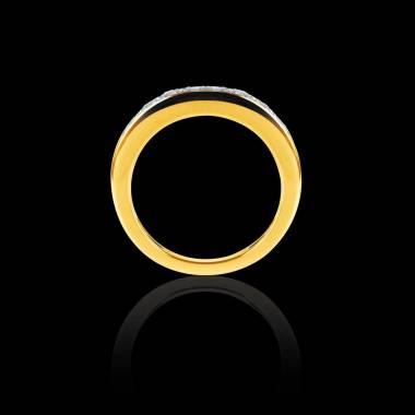 Deliciae Diamond Wedding Band Yellow Gold