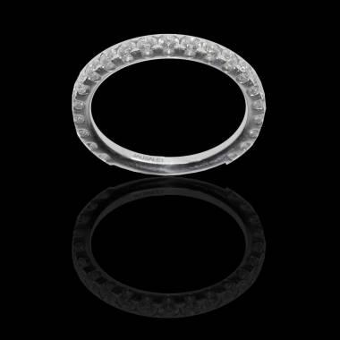 Eve Diamond Wedding Band 2_3 White Gold