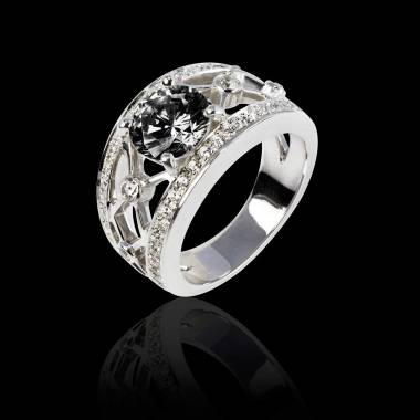 Black Diamond Rings Womens Diamond Rings Jaubalet London