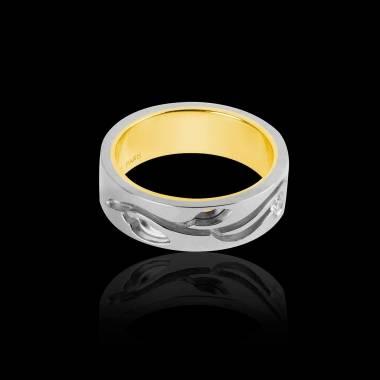 Elena Diamond Wedding Band White Gold