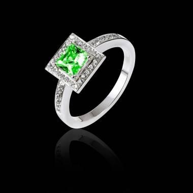 Perrine Emerald Ring