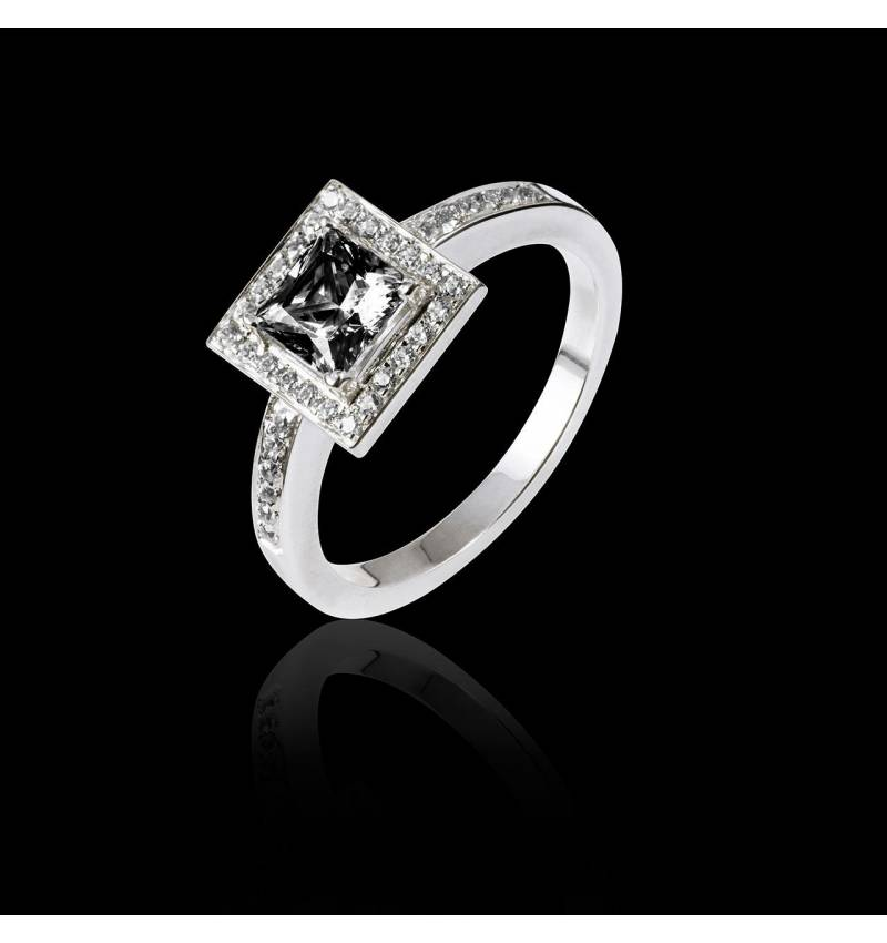 Perrine Black Diamond Ring
