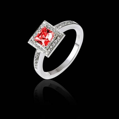 Perrine Ruby Ring