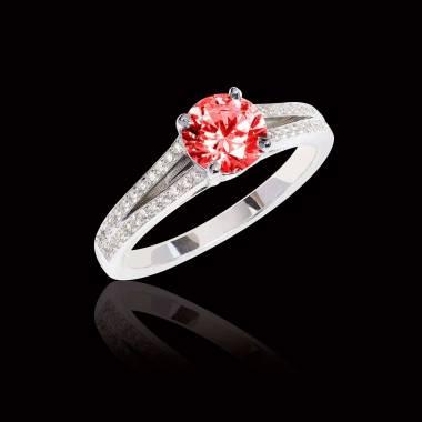 Bague de fiançailles rubis Marie