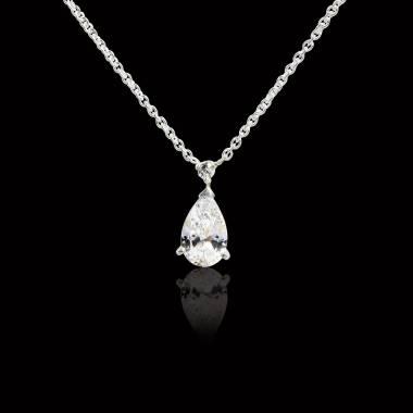 Pendentif diamant Goutte d'amour