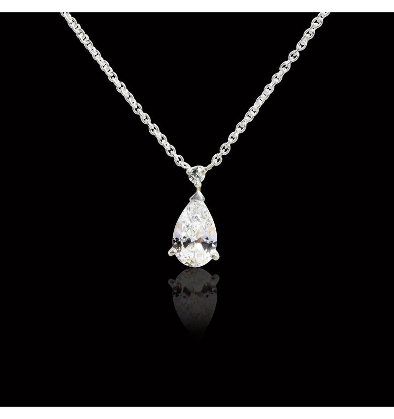 Goutte d'amour Diamond Pendant