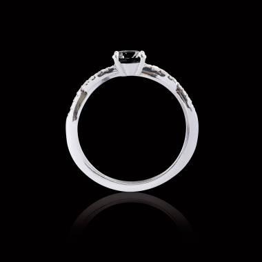 Noemie Black Diamond Ring