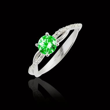 Noemie Emerald Ring