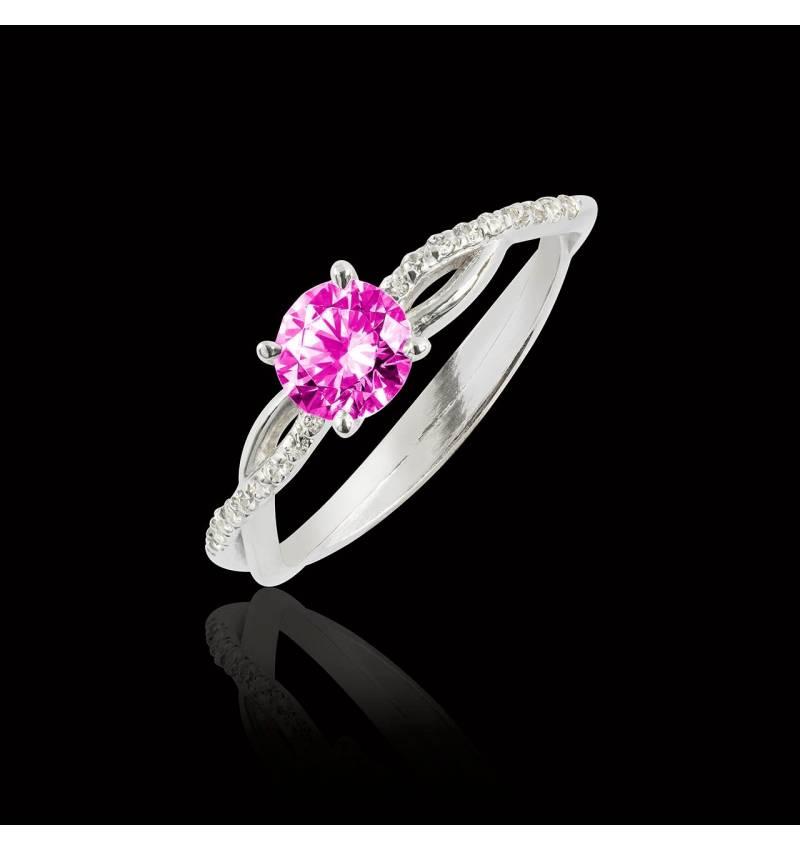Noemie Pink Sapphire ring
