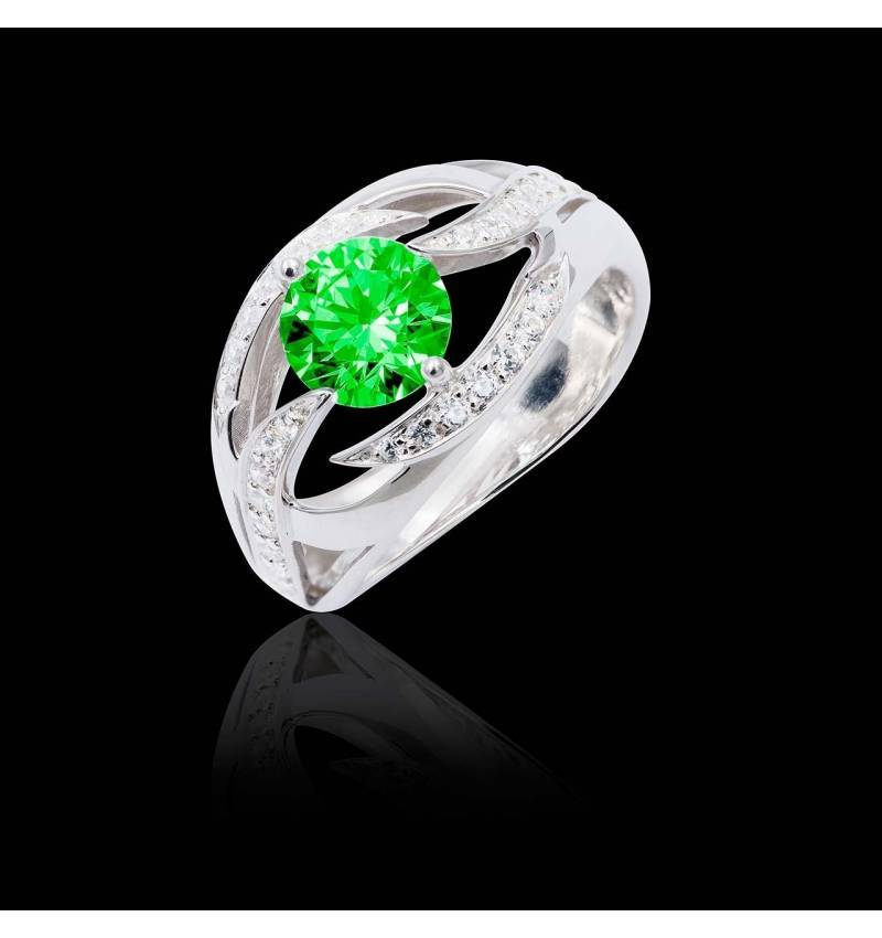 Ophelie Emerald Ring