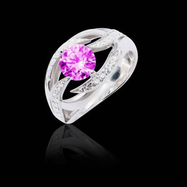 Ophelie Pink Sapphire Ring
