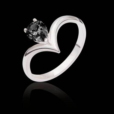 Flavie solo Black Diamond Ring