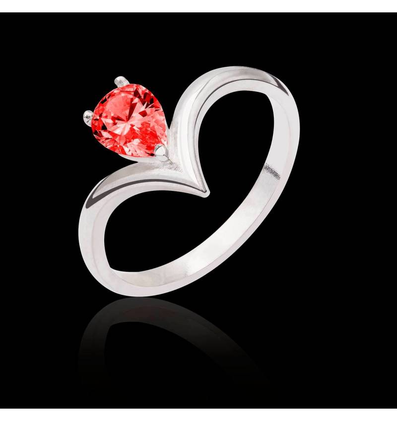 Flavie solo Ruby Ring