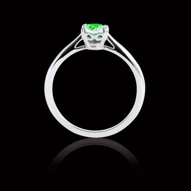 Laureen solo Emerald Ring