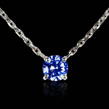 Blue Sapphire Pendant Gold Around Me