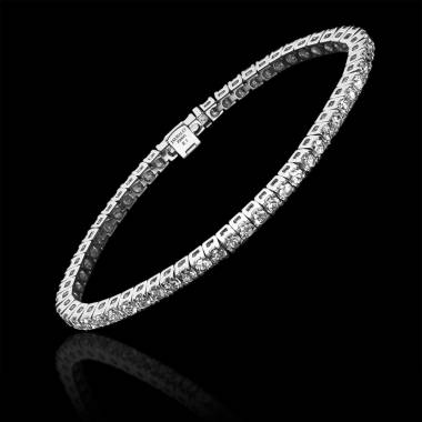 Diamond Bracelet Gold Tennis