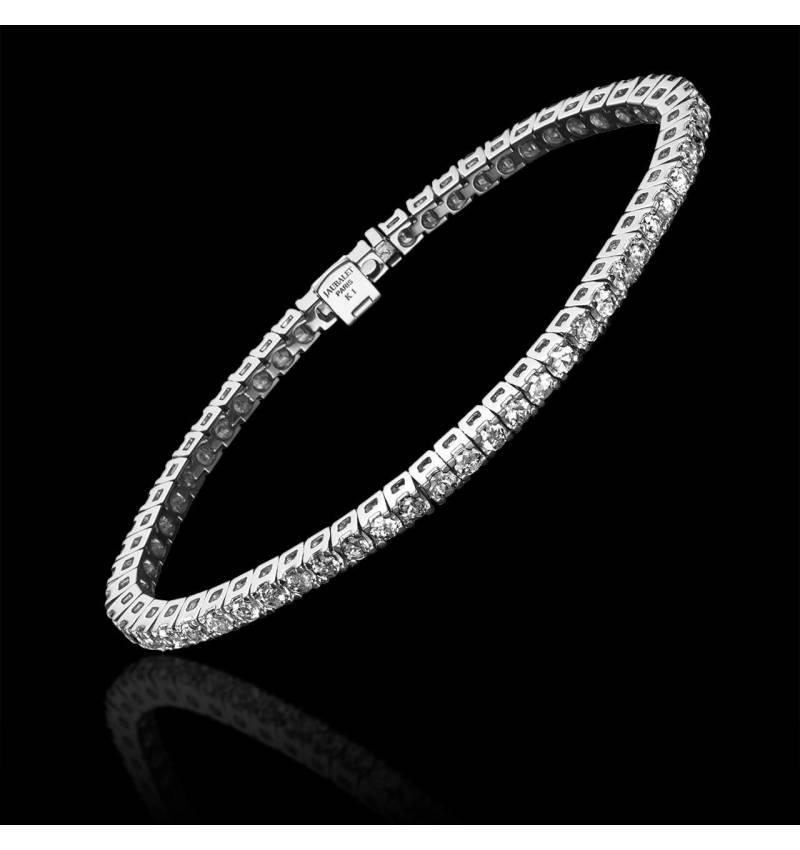 Diamond Bracelet Gold Tennis