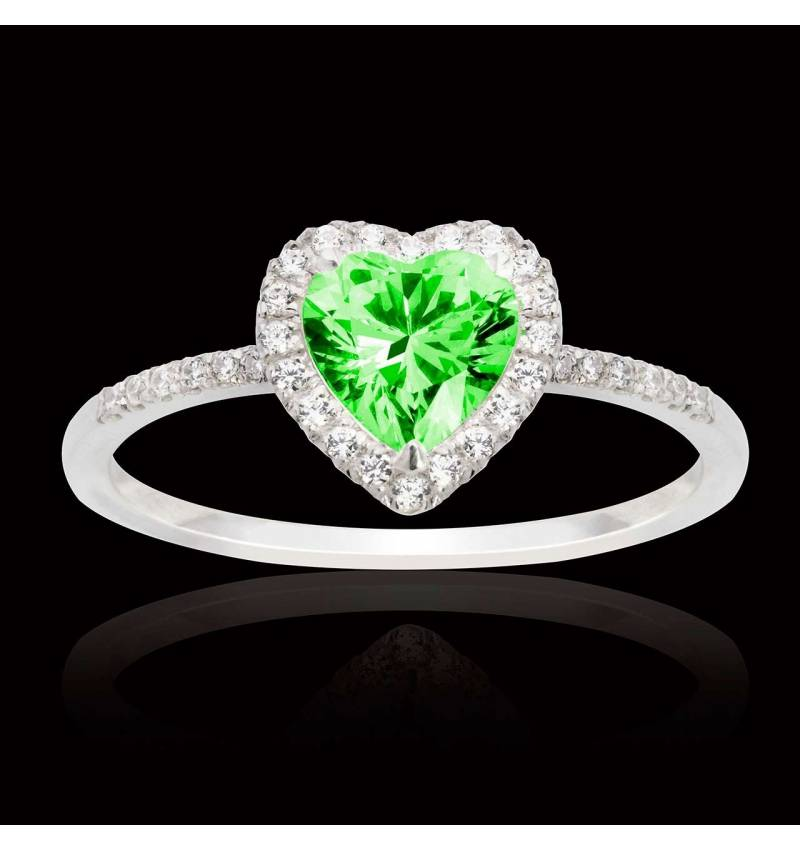 Anya Emerald Ring