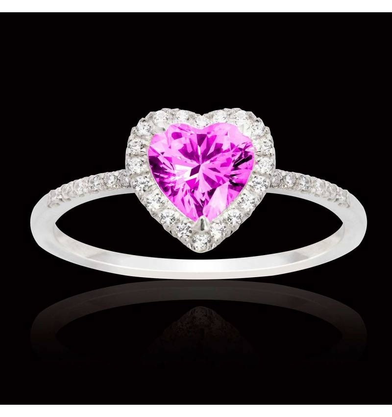 Anya Pink Sapphire Ring