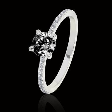 Manon Black Diamond Ring
