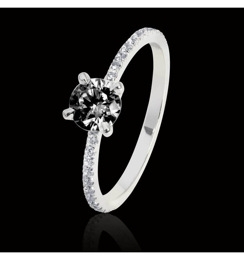 Manon Black Diamond Ring
