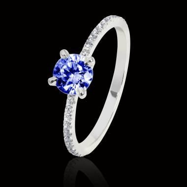 Manon Blue Sapphire Ring