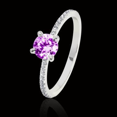 Manon Pink Sapphire Ring