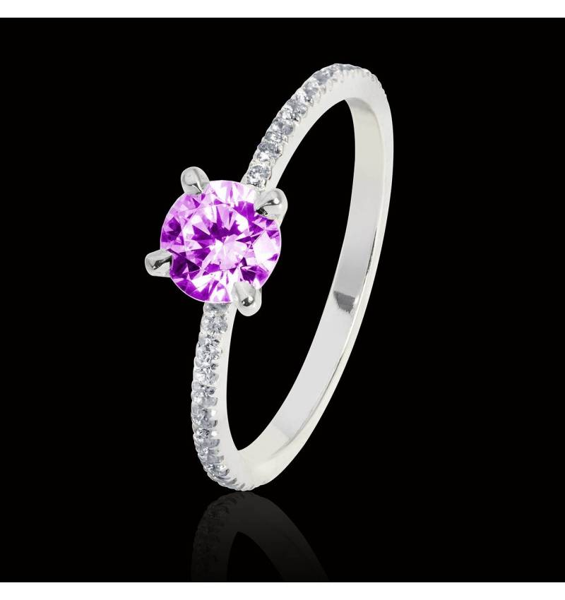 Manon Pink Sapphire Ring