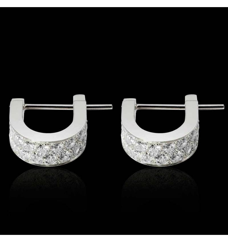 Fuseaux Diamond Earrings