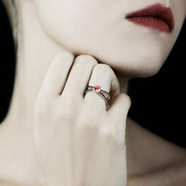 Amandine Ruby Ring