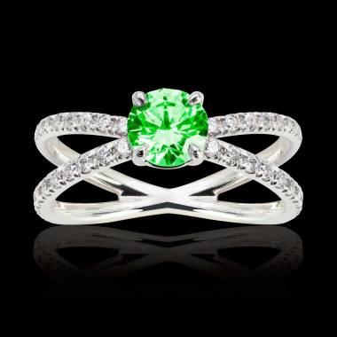 Amandine Emerald Ring
