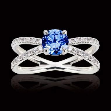 Amandine Blue Sapphire Ring