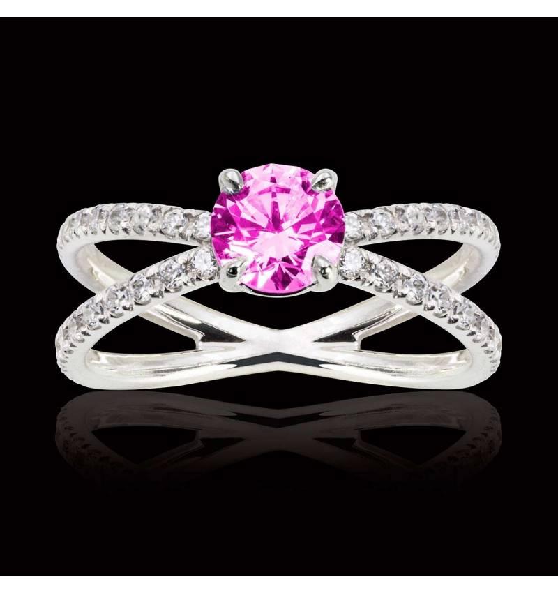 Amandine Pink Sapphire Ring