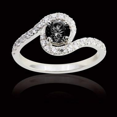 Lilou Black Diamond Ring