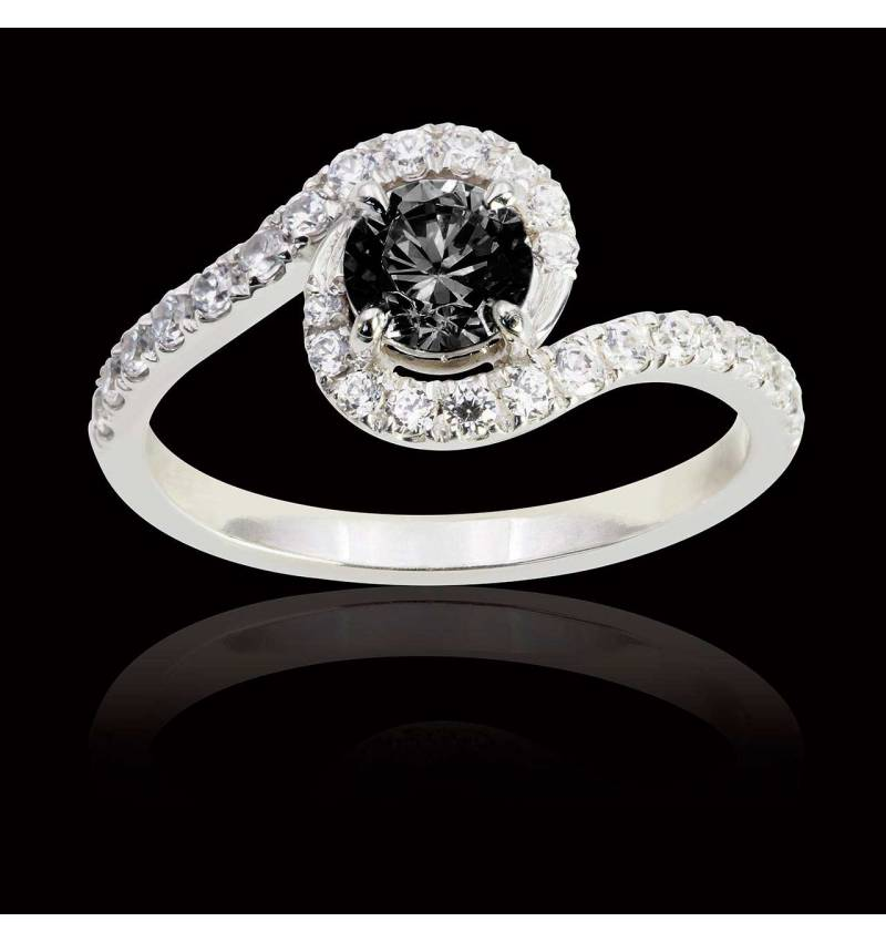 Lilou Black Diamond Ring