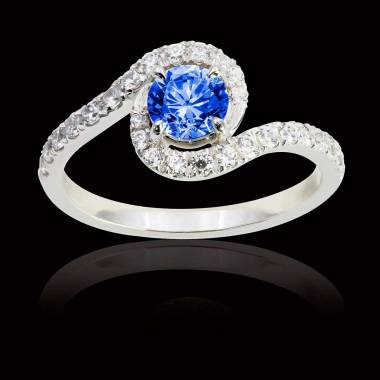 Lilou Blue Sapphire Ring