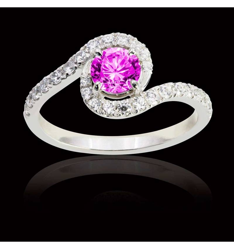 Lilou Pink Sapphire Ring