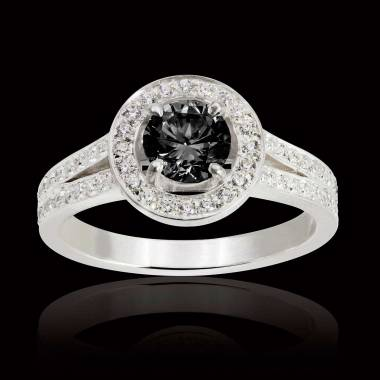 Sarah Black Diamond Ring