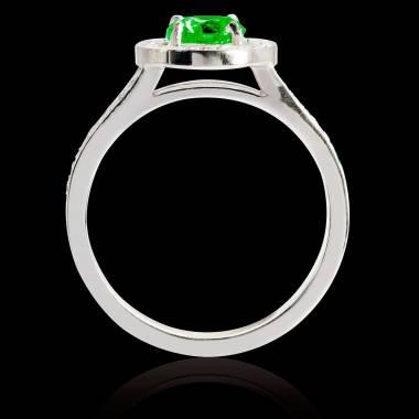 Sarah Emerald Ring